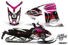 Ski-Doo Rev XR Decal Graphic Kit Sled Snowmobile Sticker Wrap 2013+ FRENZY RED