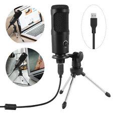 Profi Mikrofon Mikrophon Mini USB Kondensatormikrofon für PC/Laptop Live Youtube