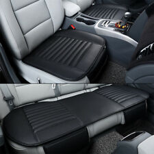 3D PU Leather Car Seat Cover Universal Breathable Pad Mat Auto Chair Cushion L