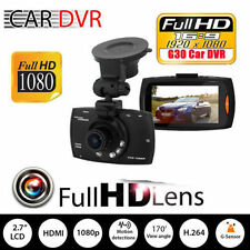 "1080P 2.3"" LCD Car Camera Full HD Dash Cam Crash DVR G-sensor Night Vision BG"