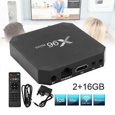 2+16G X96MINI Android 7.1.2 Smart TV Box Quad Core 4K Smart Media Player K18.0