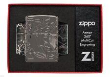 ZIPPO ★ WICCA DESIGN (Armor - 360°MultiCut)