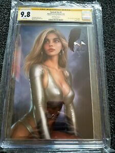SACRED SIX #1 CGC SS 9.8 SIGNED + SKETCH WILL JACK VIRGIN VARIANT LTD to 500