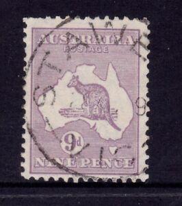 Kangaroo Used - SMW 9d Violet SG 108