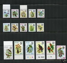 Fiji Complete MNH Set #305-320 Birds Stamps