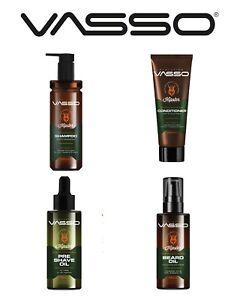 VASSO-HIPSTER ® Shave Oil Pre-Shave Oil, Beard Oil, Beard Shampoo & Conditioner