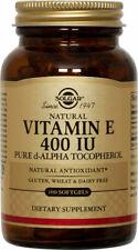 Solgar Vitamin E 400 IU Alpha Softgels 100ct