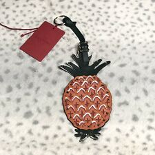 Valentino Garavani Leather Studded Pineapple Keychain Let Ring Al Campione $395