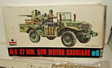 Esci 8040 US M6 Fargo , 37mm Gun Motor Carriage Model Kit in 1:72 Scale
