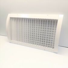 HART & COOLEY SVH1 456699 ALUMINUM DOUBLE DEFLECTION SPIRAL DIFFUSER WHITE