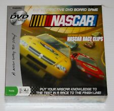 New Nascar DVD Interactive board Game sealed package 2008 Imagination race game