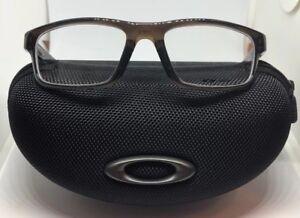 Oakley RX Eyeglasses OX8037-1754 Crosslink Pitch Polished Bark /Blue [54-18-135]