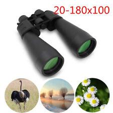 HD 20-180x100 High Resolution Night Vision Optics Telescope Zoom Binoculars