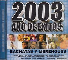 Anthony Santos Luis Vargas 2003 Ano De Exitos Bachata Y Merengue CD New Sealed