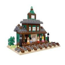 Train Station TICO Micro Sized Building Block Tiny Construction Brick Toy T1128