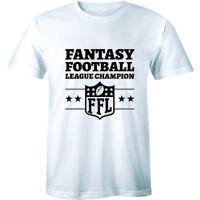 Fantasy Football League Champion FFL Winner Tees Men Sports Draft Team T-Shirt
