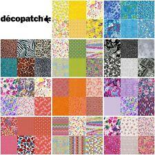 Decopatch Paper for Decoupage 6 Pieces Party Mix Pack Mixed Colours & Designs