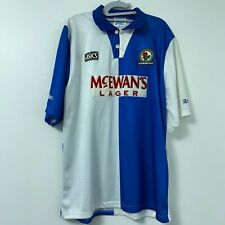Blackburn Rovers 1994 1995 Champions Asics Vintage Home Shirt Jersey Kit Size XL