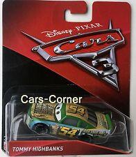 Disney Pixar Cars 3 Evolution Faux Wheel Drive No. 54 / Tommy Highbanks NEU OVP