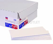5000 X DL ENVELOPES - WHITE - 90GSM WITH WINDOW - SELF SEAL - VAT INC + FREE P&P