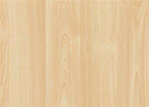 GRAIN EFFECT LIGHT MAPLE WOOD WOODGRAIN STICKY BACK PLASTIC SELF ADHESIVE VINYL