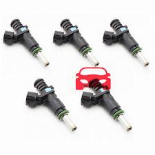 High Qulaity Set Of 5 FJ1067 Fuel Injectors Fit Volkswagens 2.5L 2007-2013