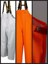 Guy Cotten Waterproof Lightweight Hitra Bib & Brace in Orange or White.