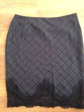 Forever 21 Exclusive Women's Check Pencil Skirt Size L