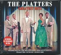 The Platters - Greatest Hits [Best Of] 40 Original Recordings 2CD NEW/SEALED