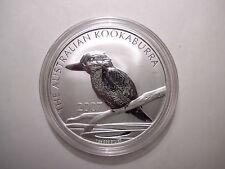 Australien 1 Dollar 2007 Kookaburra 1 Unze Silber stempelglanz