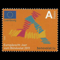 Luxembourg 2011 - European Year of Volunteering Flag - Sc 1306 MNH