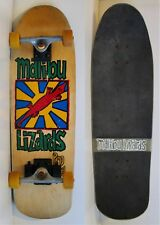 Vintage Malibu Lizards Pro Model Skateboard Lights Up Skateboards Skate Shoes