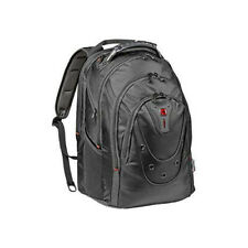 """Wenger 26 Litre 605501 IBEX 17"""" Backpack Made from Ballistic Polyester In Black"""