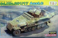 Dragon 6592 sd.kfz.251/17 ejec. C 2 en 1 * Carson * 1:35 proteger-tanques Carro-nuevo