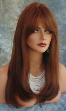 HUMAN HAIR PREMIUM WIG SKIN TOP WIG BEWITCHING FOXY SEXY STYLE CLR M4.30 *271