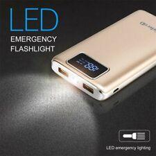 Power Bank Akku 20000 mAh Ladegerät extern USB Samsung Galaxy Ace 3 Silber