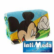Trapunta invernale Caleffi Disney Topolino Mickey Calcio piumone 100% cotone