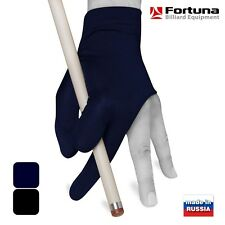 Fortuna Billiard POOL CUE GLOVE - Fits either hand - Blue - One size fits all