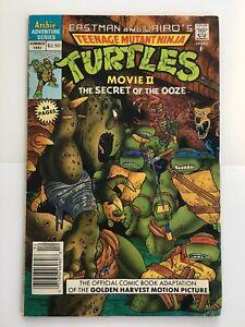 1991 Teenage Mutant Ninja Turtles The Secret of the Ooze Archie