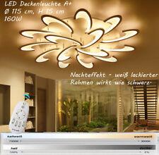 LED Deckenleuchte Fernbedienung Lichtfarbe Helligkeit einstellbar  dimmbar A+ E1