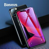 Baseus 2 X Screen Protector Tempered Glass Film Cover For iPhone 8 XS 11 Pro Max