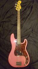 Fender 2004 P bass 62 Reissue custom PINK!
