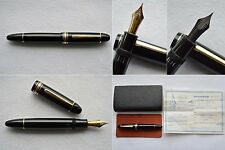 Rare 1960s Montblanc Meisterstuck 149 Fountain Pen 18C TriTone Semi Flex EF/F-BB