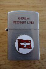 Vtg. American President Lines Collector's Cigarette Lighter