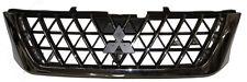 Front Radiator Grille Chrome & Black For Mitsubishi L200 K74 2.5TD 06/01-08/04