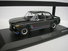 BMW 2002 Turbo 1973 Nero 1/18 minichamps 155026204 Nuovo