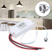 Touchless IR Motion Sensor On/Off Switch Light Kitchen Mirror Cabinet Door Light
