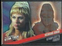 Quotable Star Trek TOS Starfleet's Finest Chase Card F9