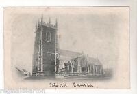 Alford Church - Photo Postcard 1904 / Louth