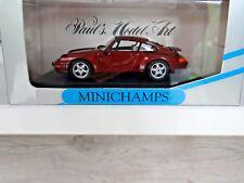 MINICHAMPS 1/43 PORSCHE 993 RED METALLIC